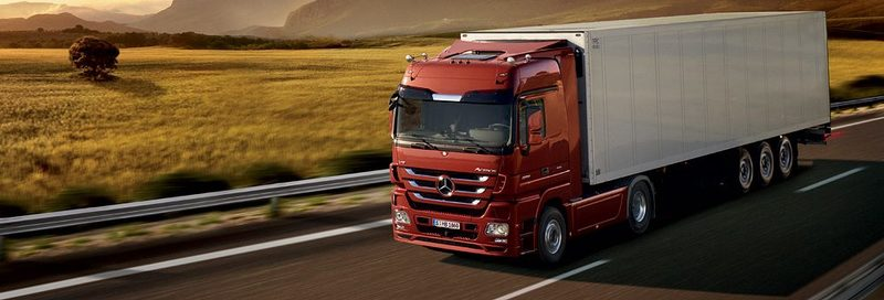 Автозапчасти на Mercedes Benz Trucks